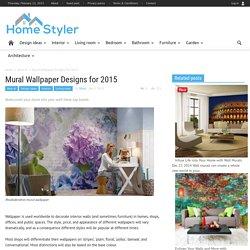 Mural Wallpaper Trends for 2015