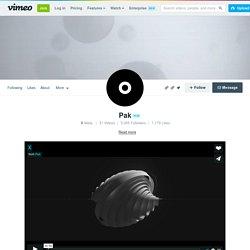 Murat Pak on Vimeo