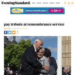 Jo Cox's parents - the Leadbeaters - and a Masonic procession from Parliament