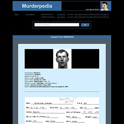 Murderpedia, the encyclopedia of murderers