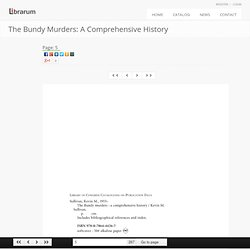 Page 5 The Bundy Murders: A Comprehensive History Librarum.org