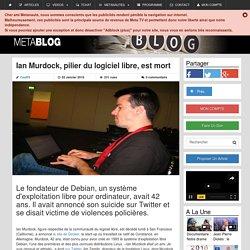 Ian Murdock, pilier du logiciel libre, est mort