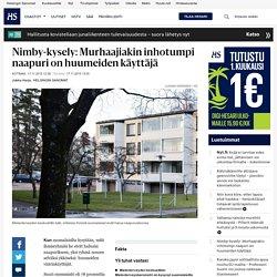 hs Not in my backyard (nimby) -kyselyyn vastasi 1 055 suomalaista