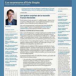 Les quatre surprises de la nouvelle France électorale