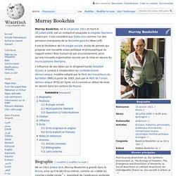 Murray Bookchin