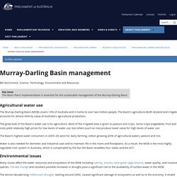 Murray-Darling Basin management