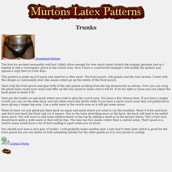 Murtons Latex Patterns - Trunks