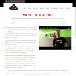 Schembript Muscle Building Camps: Build Your Attractive Biceps