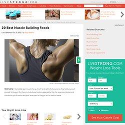 20 Best Muscle Building Foods Slideshow