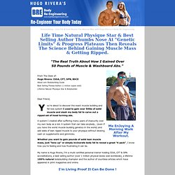 Lose Fat & Gain Muscle - with Natural Bodybuilding Star Hugo Rivera