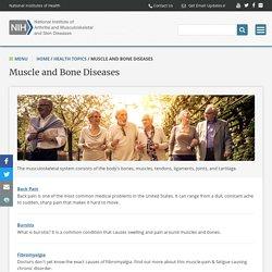 Muscle, Bone & Skeletal Diseases