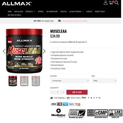 MUSCLEAA Products - Allmax Nutrition