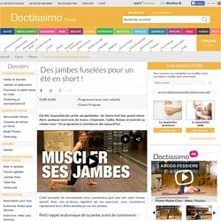 Muscler ses jambes - Exercices de musculation des jambes