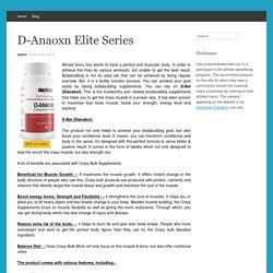 D-Anaoxn Elite Series
