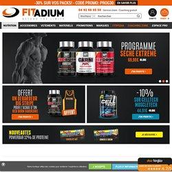 Musculation : Produits, appareils, accessoires, vetements et coaching musculation - FITADIUM