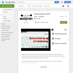 Musculation EPS