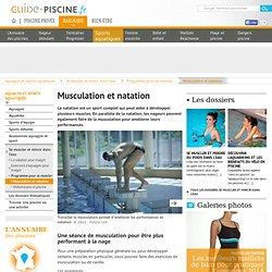 Musculation et natation