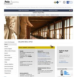 Florence : Galerie des Offices