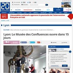 Lyon: Le Musée des Confluences ouvre dans 15 jours