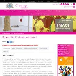 Musée d'Art Contemporain [mac]