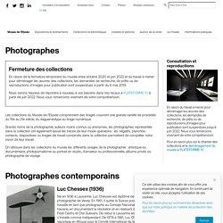 Musée de l'Elysée en Suisse : Photographes