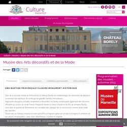 Château Borely Musée des arts décoratifs et de la mode