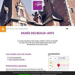Musée des Beaux-Arts - Tarifs