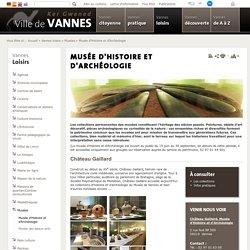 Musée d'Histoire et d'Archéologie - Vannes