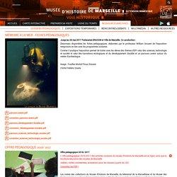 Musée d'Histoire de Marseille - Fiches pédagogiques