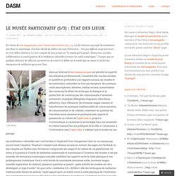 Le musée participatif : état des lieux