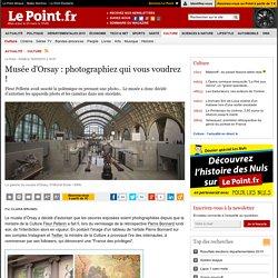 Musée d'Orsay : photographiez qui vous voudrez !