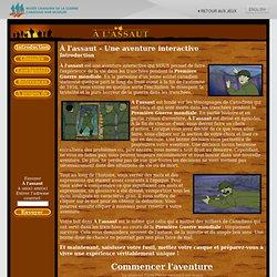 À l'assaut - Un jeu d'aventure interactif gratuit de la Première Guerre mondiale