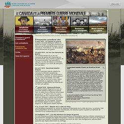 Introduction à la Première Guerre mondiale - Évènements canadiens clés