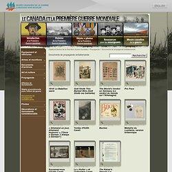 Objets et photos de la Première Guerre mondiale - Propagande