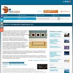 Musées et patrimoines numériques