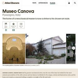Museo Canova – Possagno, Italy