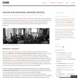 Retour sur Museomix, première édition