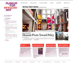 Museum for African Art: Home Page