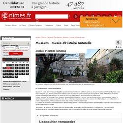 Museum - musée d'Histoire naturelle