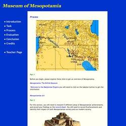 Museum of Mesopotamia: Process