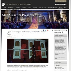 Met Museum Presents Blog