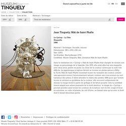 Jean Tinguely; Niki de Saint Phalle Le Cyclop - La Tête Maquette 1986