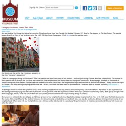 Jewish Lower East Side Museums and Tours Attractions