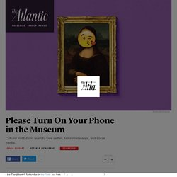 Museums Are Embracing Selfies, Social Media, and Virtual Reality