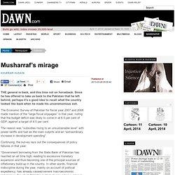 Musharraf's mirage