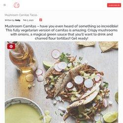 Mushroom Carnitas Tacos