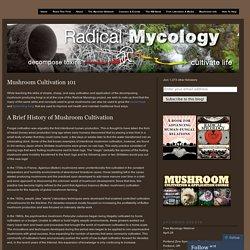 Mushroom Cultivation 101