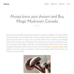 Buy Shrooms Online Vancouver