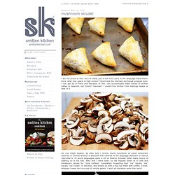 mushroom strudel