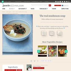the real mushroom soup